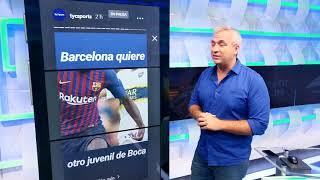 ¡Las noticias de la mañana! Independiente, Santos, Boca, Barcelona, Tití Henry y más