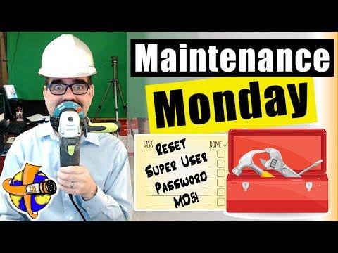 MD5 Trick To Reset Your Forgotten SuperUser Password Joomla - 🛠 Maintenance Monday Live Stream #032