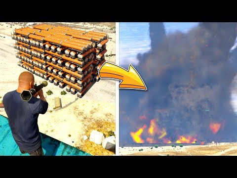 The BIGGEST Explosion I've Ever Seen.. (seriously)