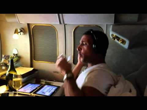 Emirates A380 Silent Disco