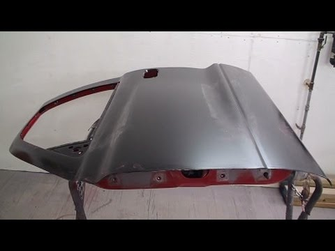 Door Skin Remove & Replace Video on 1998 Dodge Dakota in The Art of Auto Body Repair