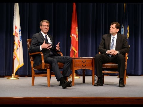 Sec Def Ash Carter: A live fireside chat at U.S. Naval War C