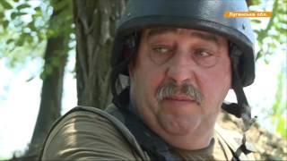 Мозолит глаза боевикам! - воины АТО вывесили флаг под носом у врага