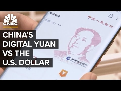 Could China Dethrone The U.S. Dollar With A Digital Yuan?