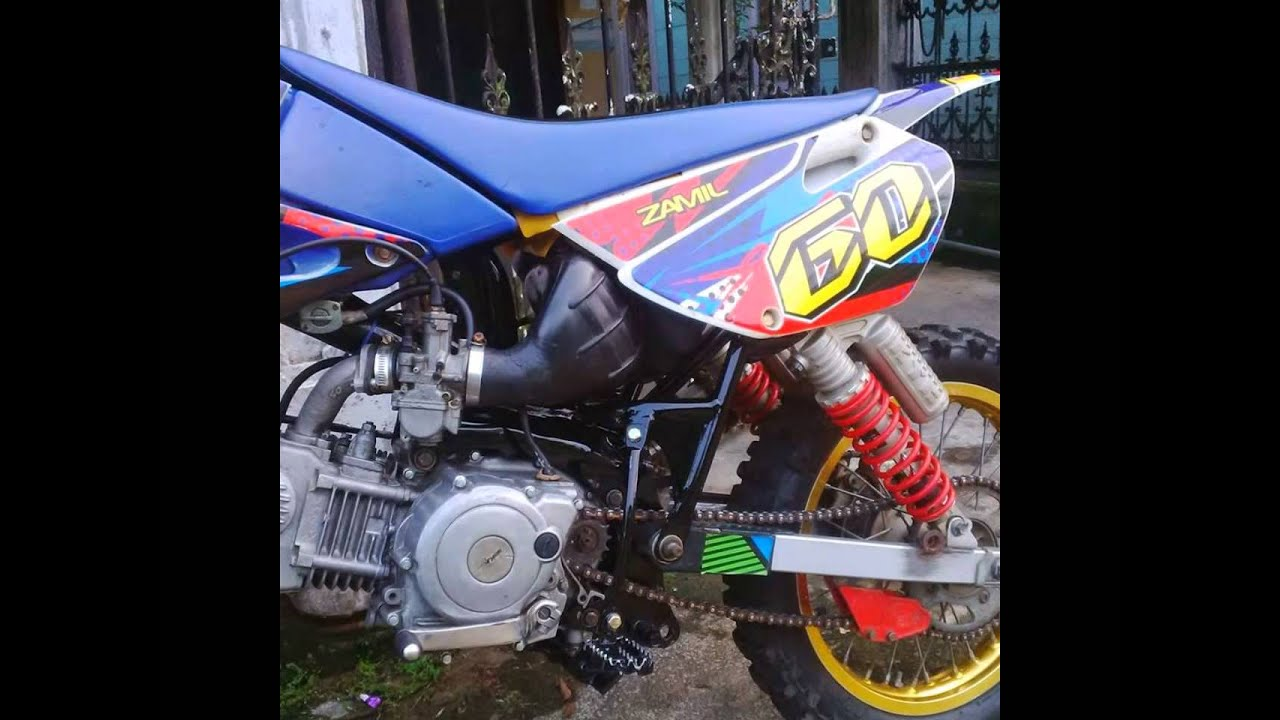 Video Modifikasi Motor Bebek 4tak Yamaha Jupiter Z 2008 Trail