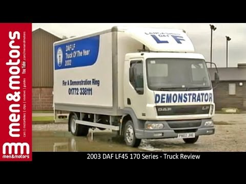 2003 DAF LF45 170 Series - Truck Review - YouTube