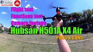 Hubsan X4 Air H501A - Full Review - Part 2