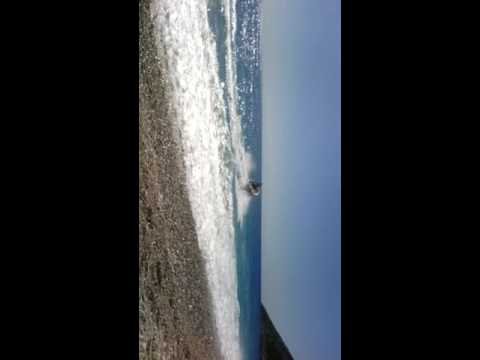 Dhrale Albania. Power boat Vas Burger