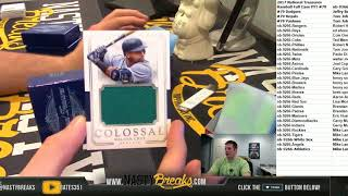 2 18 18 2017 National Treasures Baseball Full Case PYT #79