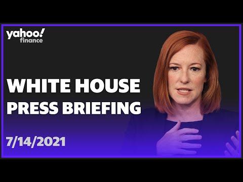 LIVE: White House Press Secretary Jen Psaki holds press brie