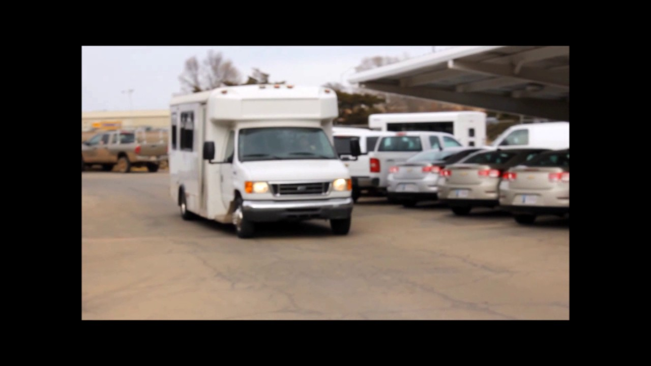 Shuttle buses for sale in Texas by NY Dealership | Call 844-612-7122 | 2007  Ford E450 Bus