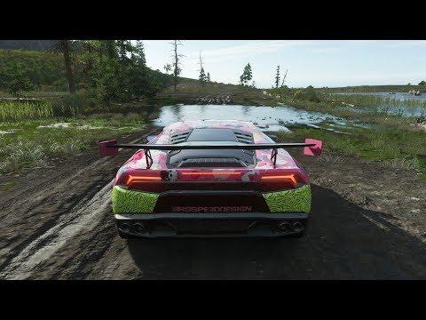 Forza Horizon 4 - ALEX CHOI'S LAMBORGHINI HURACAN - OFF-ROAD in fortune island - 1080p60FPS thumbnail