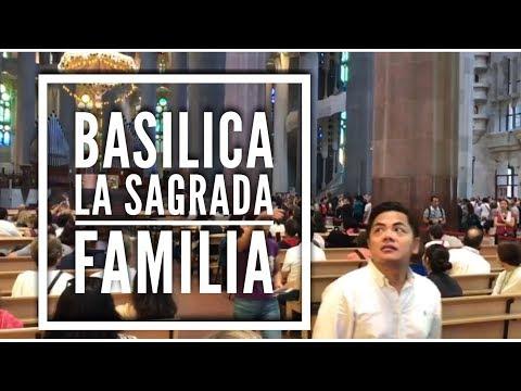 TRAVEL VLOG: BASILICA LA SAGRADA FAMILIA BARCELONA SPAIN 🇪🇸 I  VLOG#61