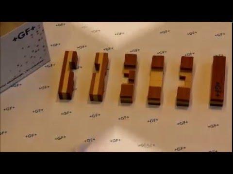 Verrassend Oplossing houten kubuspuzzel kruis - GF Piping Systems - YouTube LH-27