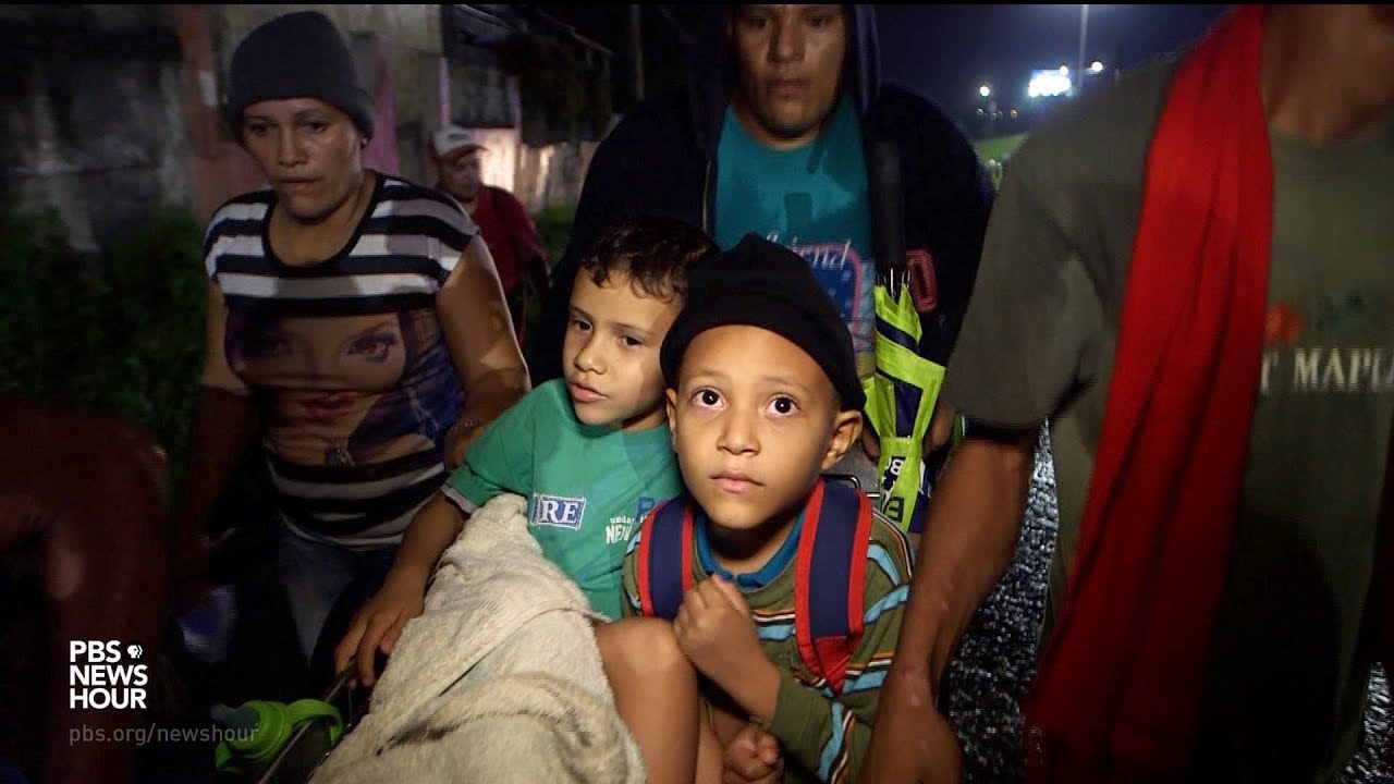 Why families by the thousands are fleeing Honduras for U S