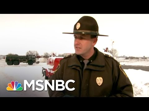 Veterans Take Action To Protest Dakota Access Pipeline | MSNBC