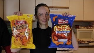 Herr's Bacon Cheddar & Buffalo Blue Cheese Puffs Food Review