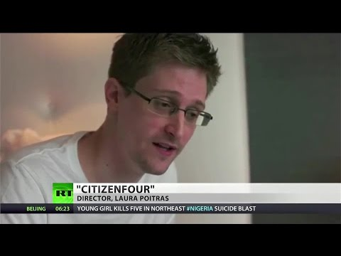 Snowden-based film 'CitizenFour' grabs best documentary Oscar