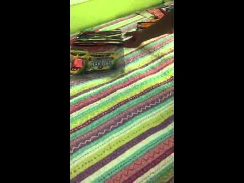 Fifth grade supplies and desk  organization part 1 by richg
