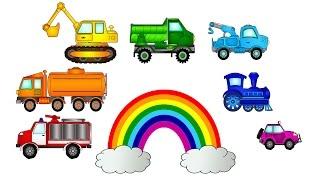 Развивающий мультфильм презентация МАШИНЫ и ЦВЕТА для самых маленьких(Развивающий мультик для детей от 12 месяцев. Классическая музыка, яркая радуга и большие машины, которые..., 2015-02-25T07:00:02.000Z)