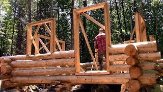 Building Preparations, Log Treatment, Trail Blazing- Log Cabin Update- Ep 10.10