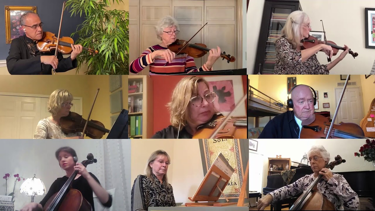 Handel with Care Chamber Players of Palm Coast Virtual Concert February 2021 Paige Dashner Long, Dir