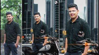 photo editing | how to manipulate simple pose | by U2studio
