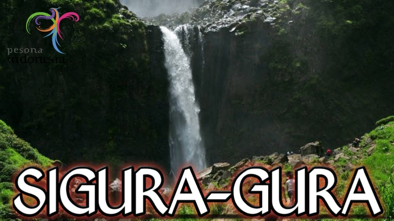 Air Terjun Sigura-gura / Ponot (Tertinggi di Indonesia)