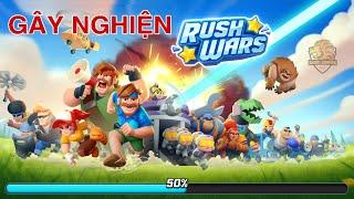 Trải nghiệm lần đầu chơi RUSH WARS - Trò chơi mới của SUPERCELL   Akari Gaming