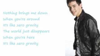Zero Gravity - David Archuleta (Lyrics)