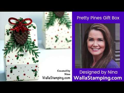Pretty Pinecone Gift Box