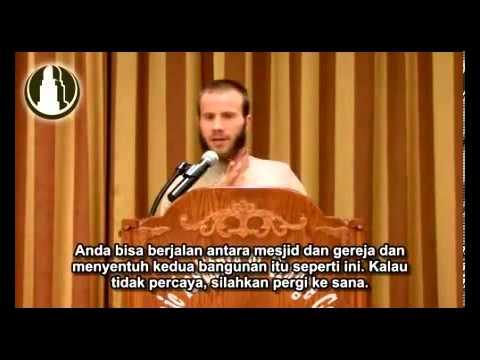 INJIL Bible justru Membimbingku pada ISLAM Kisah Yusha Evans - Sub Indonesia