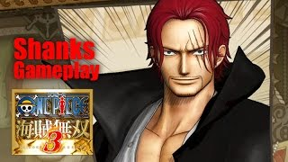 One Piece 海賊無双3「紅髮‧撒古斯」遊玩影片Pirate Warriors 3 Shanks gameplay
