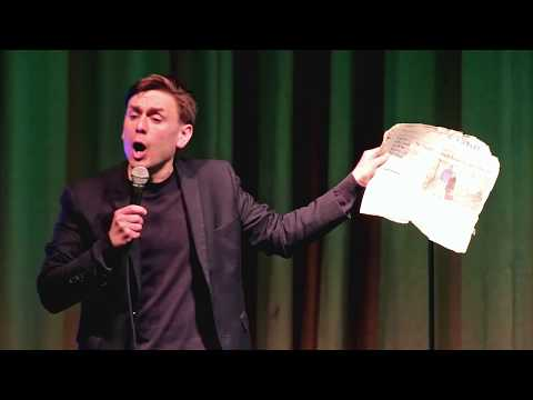 James Mullinger - Pita Pit in St. Stephen routine