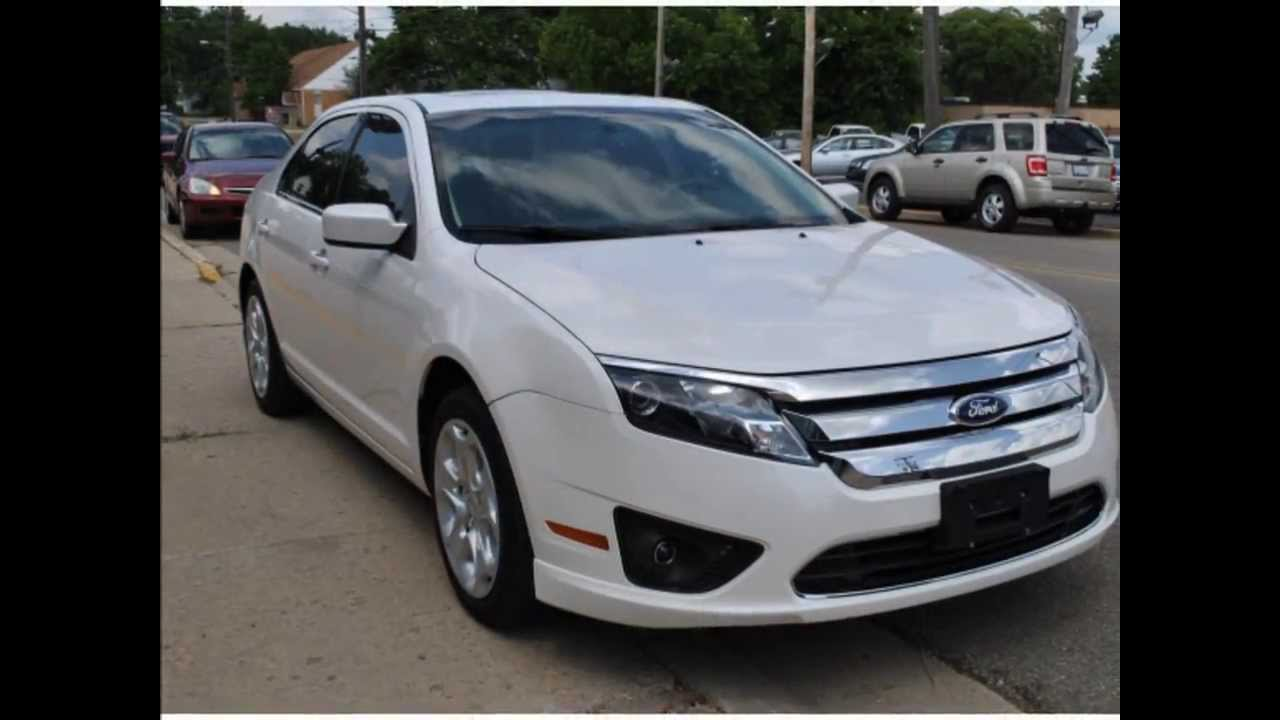 2011 ford fusion se white suede 16969