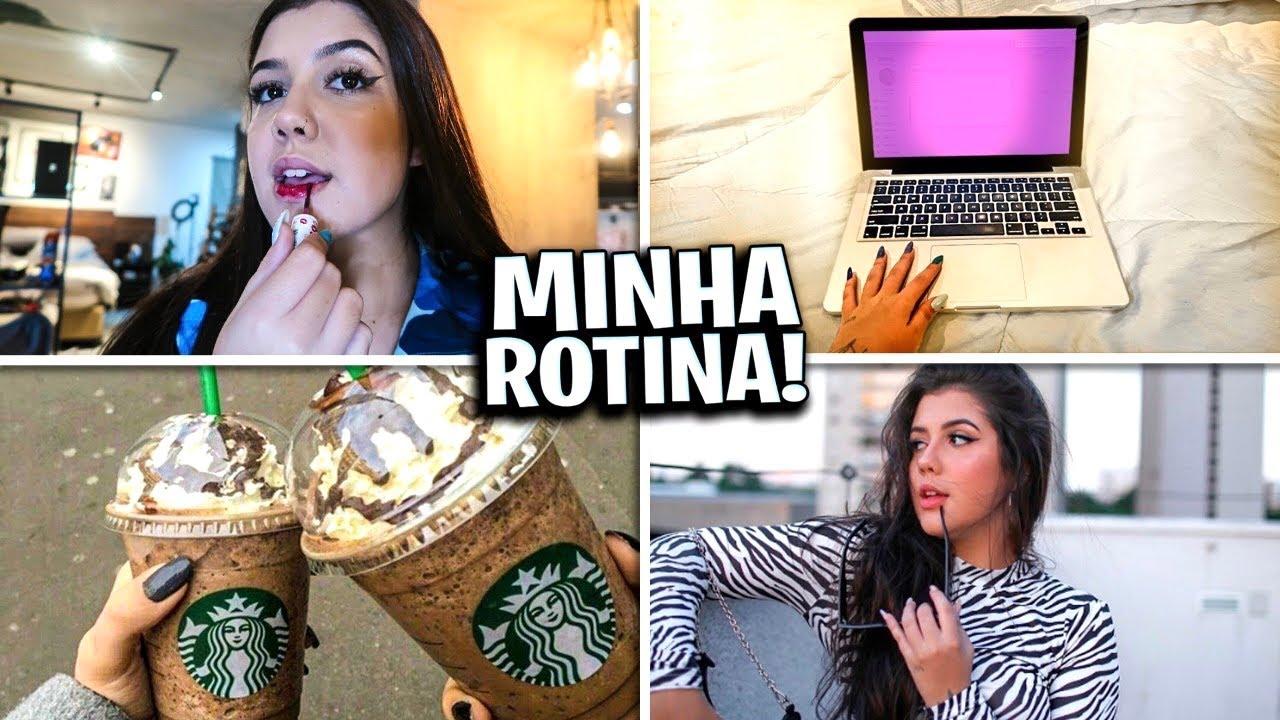 MINHA ROTINA EM SÃO PAULO! *dia a dia*