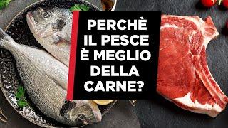 Perchè è meglio mangiare il pesce rispetto alla carne rossa?
