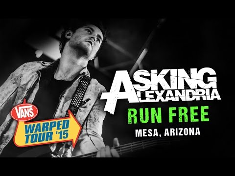 "Asking Alexandria - ""Run Free"" (with Denis Stoff) LIVE! Vans Warped Tour 2015"