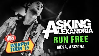 "Asking Alexandria - ""Run Free"" (with Denis Stoff) LIVE! Vans Warped Tour 2015"