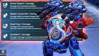 Building The Daredevil Carnage With Major Skill Upgrades - Destruction | War Robots