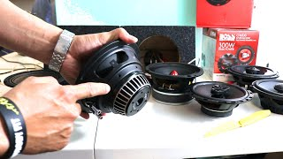 6.5 SPEAKERS UNBOXING JBL GTO629,BOSS ,Pioneer TS-M650PRO,Skar Audio,DS18 PRO,Rockford Fosgate