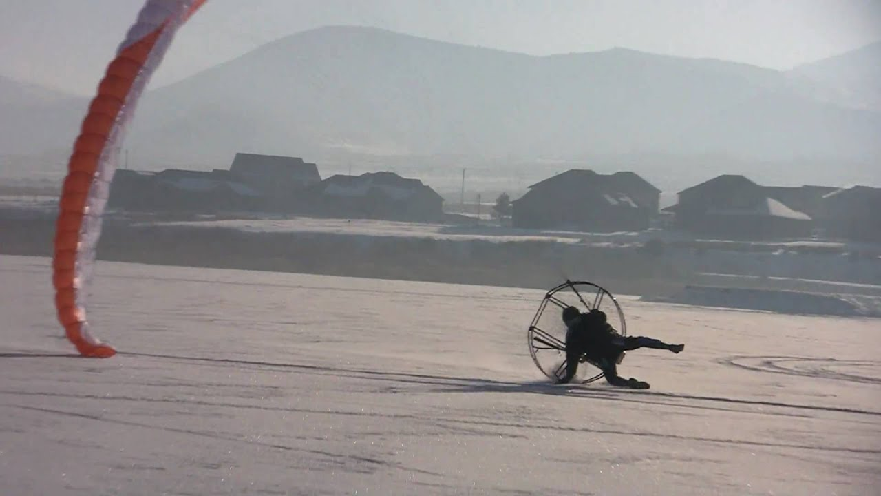 Paramotor Ooops!! Slaming The Flat Top Into The Ground!