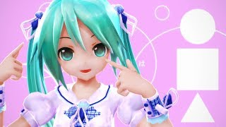 【MMD/PV】- musiClock - Alice Miku Hatsune Appearance -【1080p・60fps】