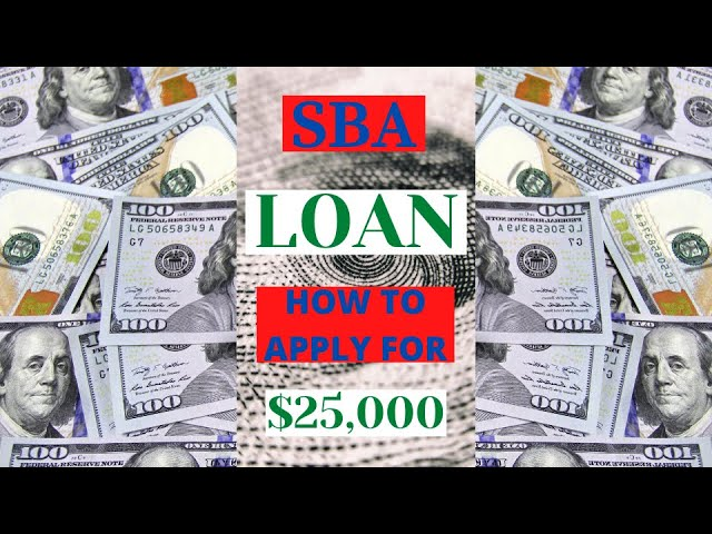 Grant/Loan SBA EIDL How To Apply For $25,000 Without A Business