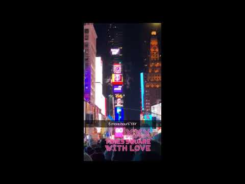 Times Square NYC Ball DROP: Last Minute Of 2017!
