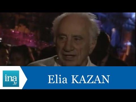 Elia Kazan répond à Elia Kazan - Archive INA