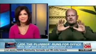 Joe The Plumber Heated CNN Interview