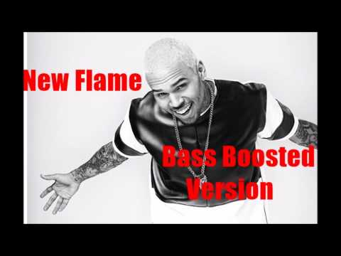 Chris Brown ft Usher & Rick Ross - New Flame (Bass Boosted Version)
