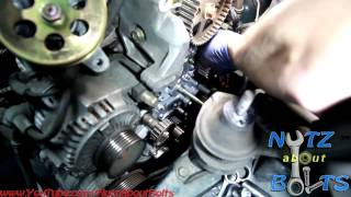 1998-2002 Honda Accord Timing belt replacement with water pump