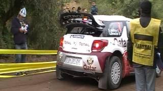 Largada de Al-Attiyah Rally Argentina 27/04/2012 La Pampa
